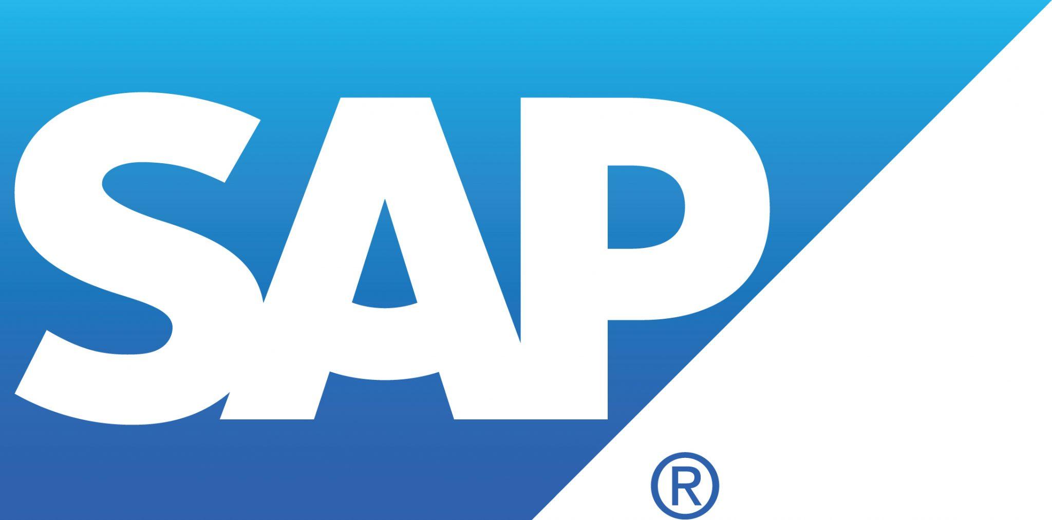 SAP's logo