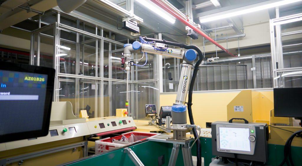 Ocado Robotic Suction Pick