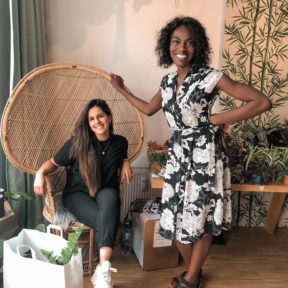 Deborah Choi and Alina Bassi, alumni of Google for Startups Immersion for Women Founders, were inspired to make their own support group for BAME founders.