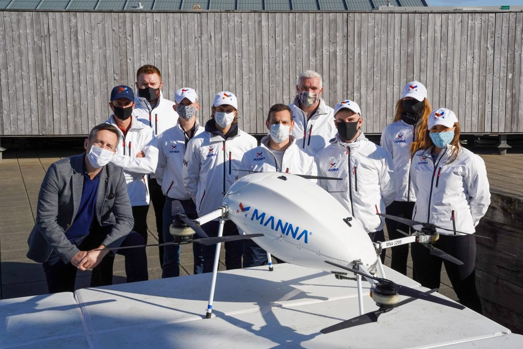 The Manna Aero team
