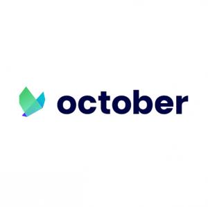 October's logo