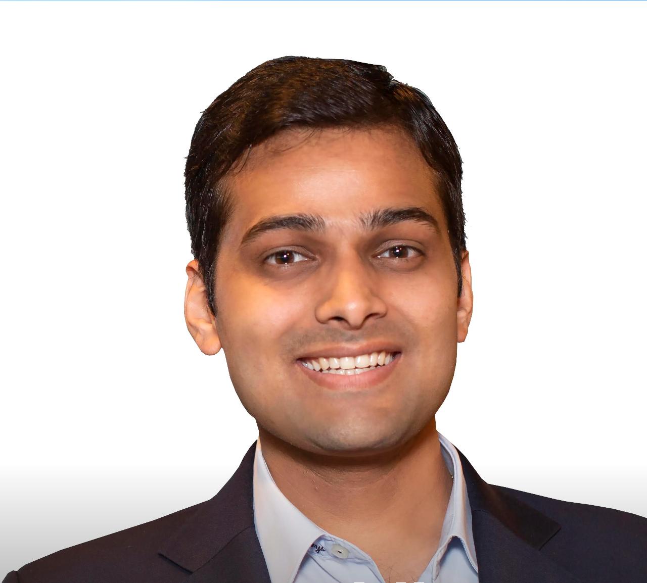 Headshot of Aniruddha Sharma, chief executive at carbon capture startup Carbon Clean.