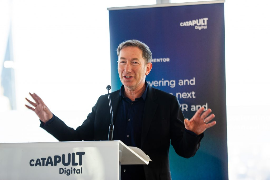 Jeremy Silver, chief executive of Digital Catapult