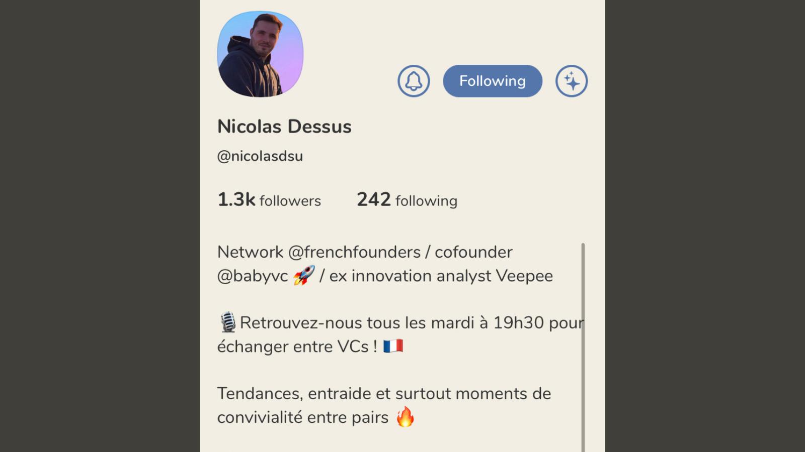 Nicolas Dessus Clubhouse