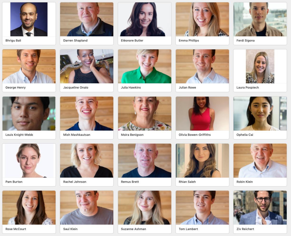 Seed investor LoclGlobe team