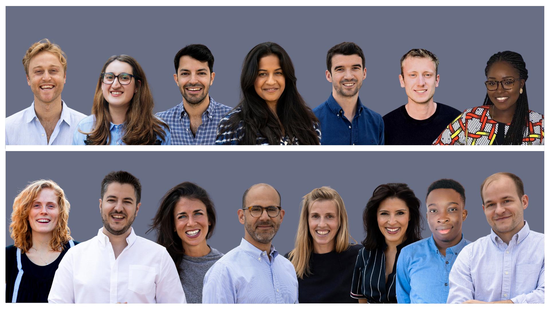 Seed investor Seedcamp team
