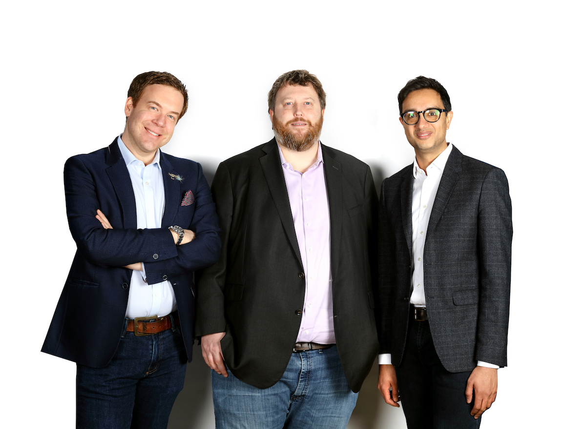 Seed investor Hoxton team.