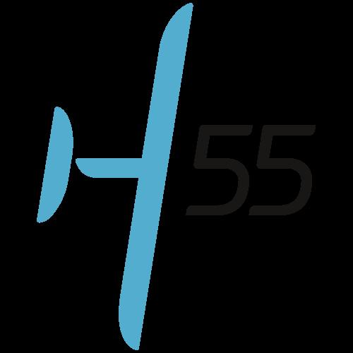 H55's logo