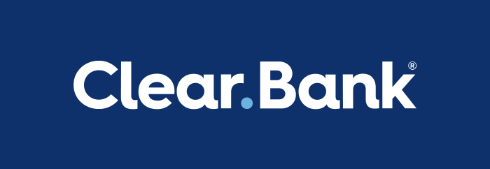 ClearBank's logo