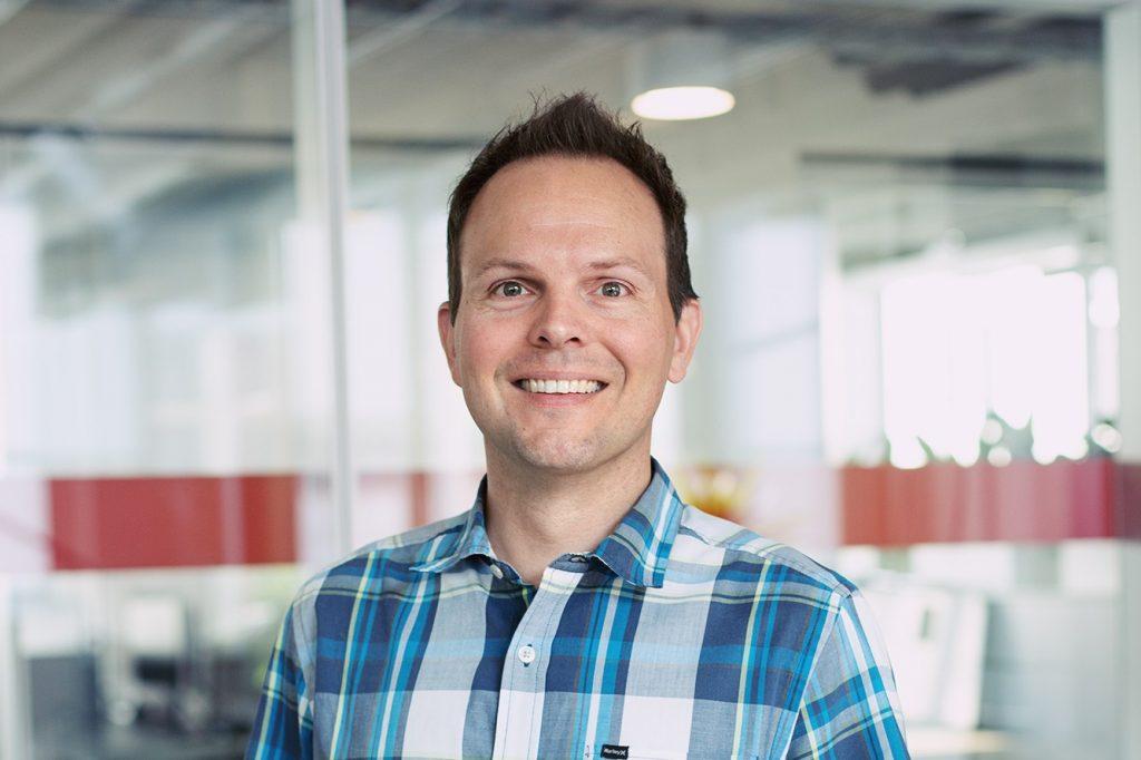 Jeffrey Oatham, director of sustainability