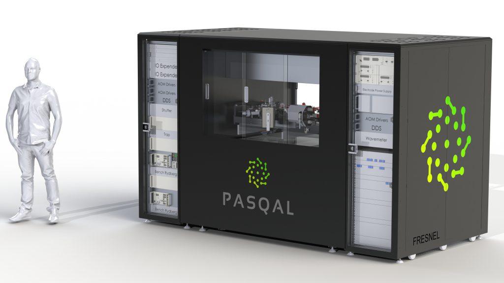 Image of a Pasqal quantum processor