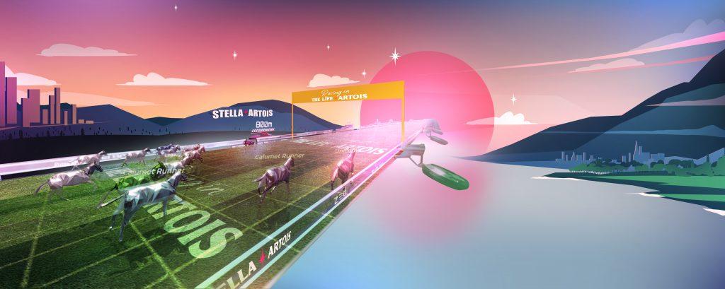 AB InBev Zed Run racetrack