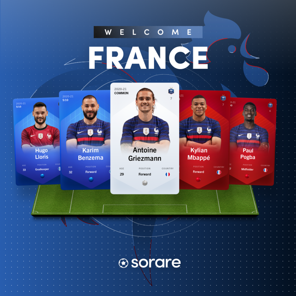 Sorare deal with French Football team