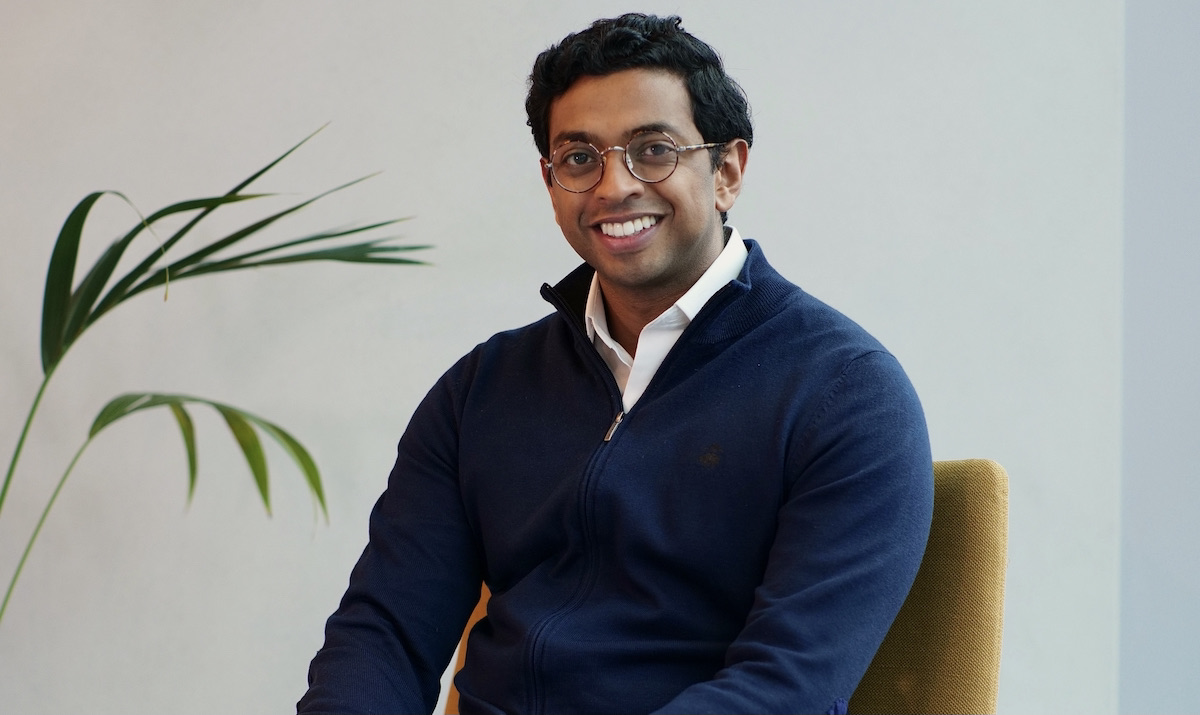 Ben Maruthappu, chief executive and cofounder of healthtech startup Cera Care