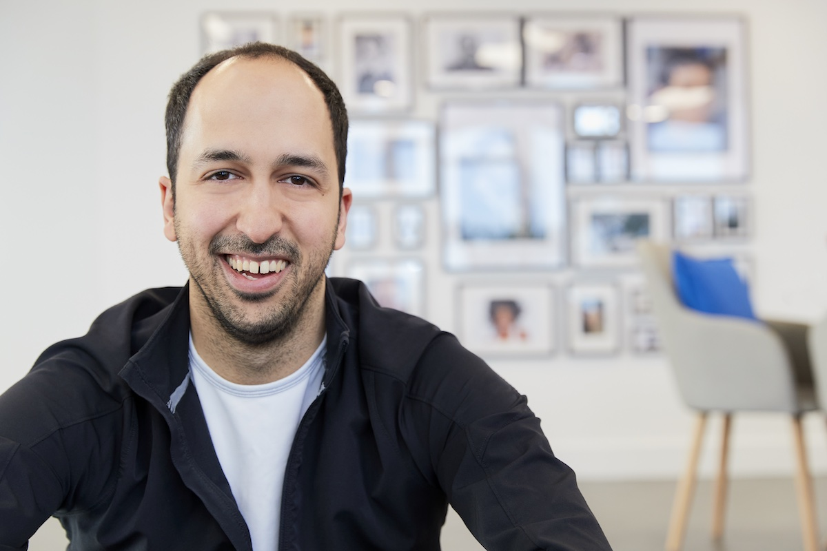 Dan Vahdat, founder and CEO of healthtech startup Huma