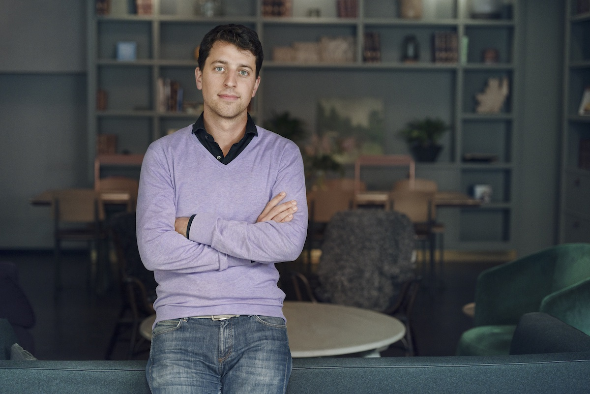 Raoul Scherwitzl, co-chief executive and cofounder of healthtech startup Natural Cycles