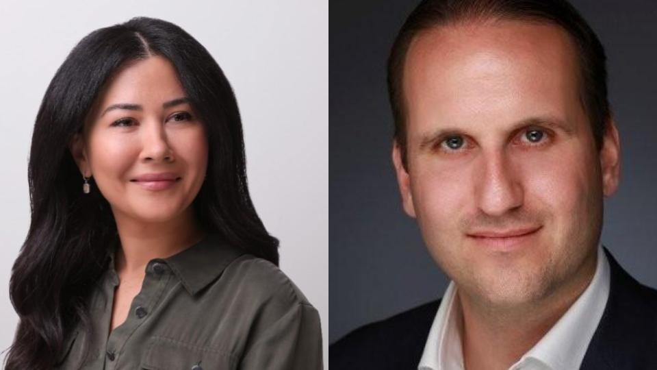 Tech power couples - Luciana Lixandru and David Klein