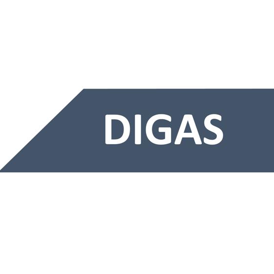 Digas's logo