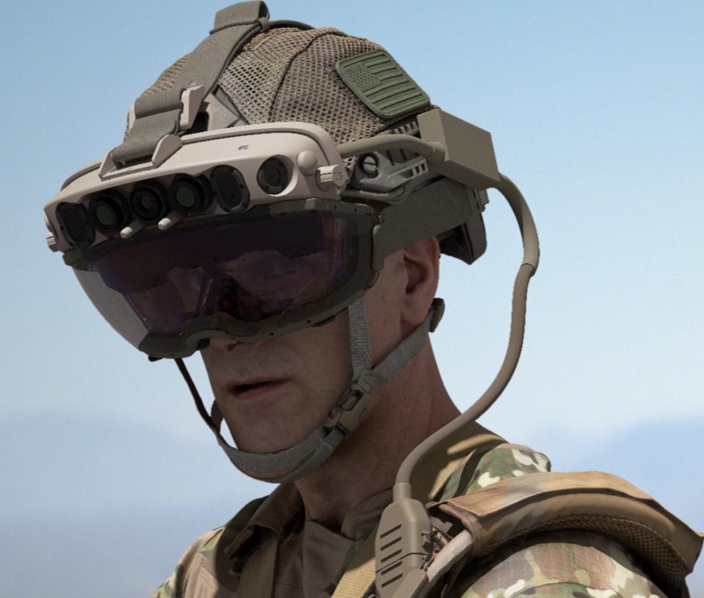 Microsoft hololens military headset