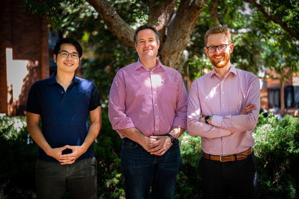 Quantum Brilliance cofounders