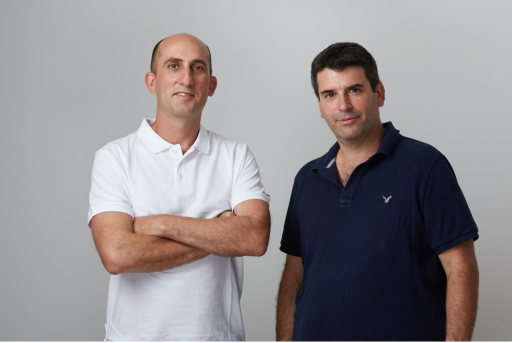 Upstream cofounders Yoav Levy (L) and Jonathan Appel (R)