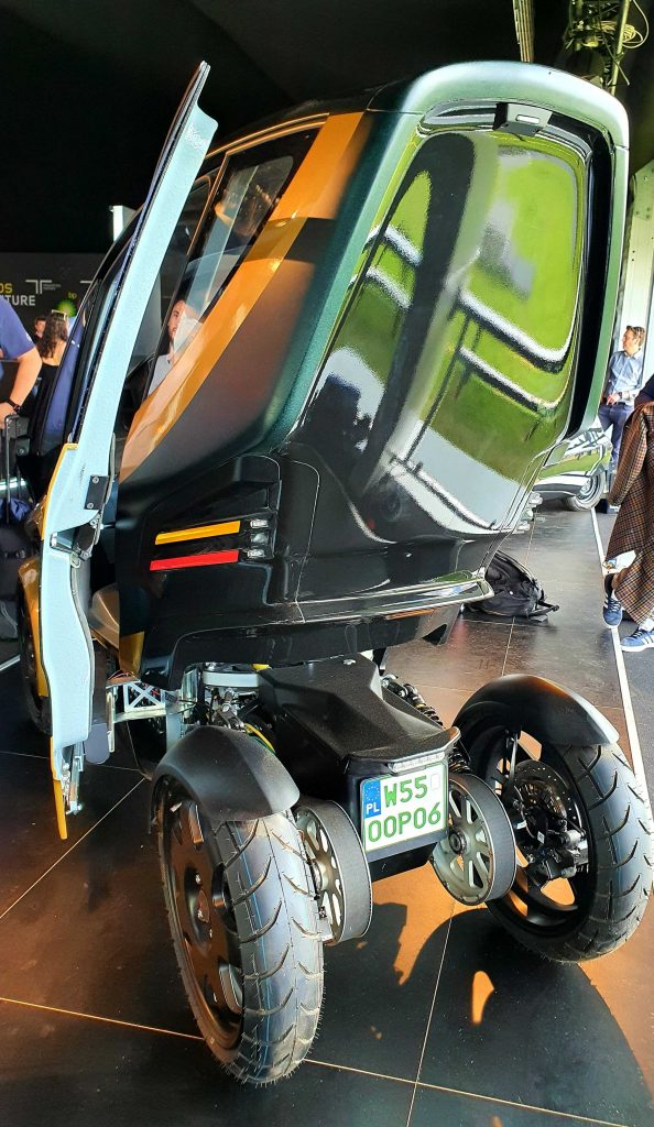 Triggo rear view