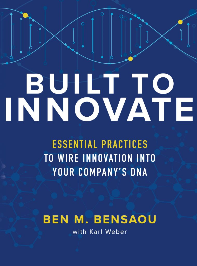 Built to Innovate book cover