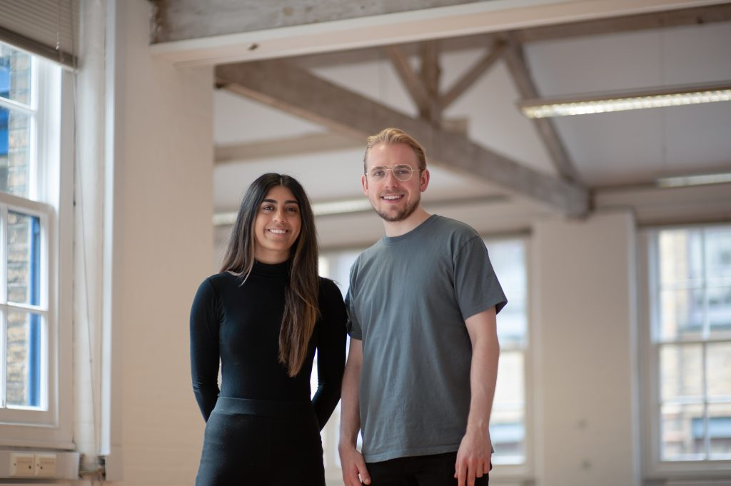 Murvah Iqbal and Mathias Krieger, the founders of Hived